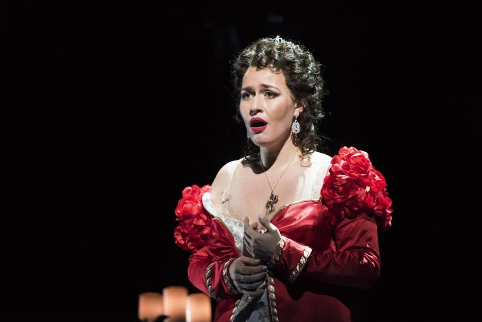 "Elena Stikhina made her American debut in the title role of the BLO's production of ""Tosca."""