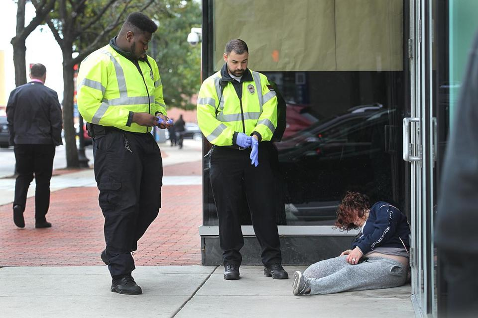 Critics of Mayor Martin J. Walsh say those who would have gone to the Long Island center are stuck on Boston's streets.