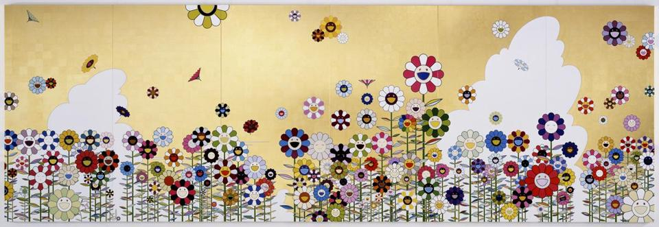 """Kawaii-Vacances (Summer Vacation in the Kingdom of the Golden),"" Takashi Murakami, 2008."