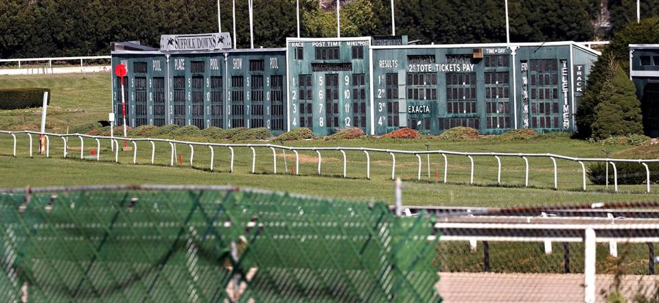 Racing at Suffolk Downs in recent years has been limited to a handful of dates each season.