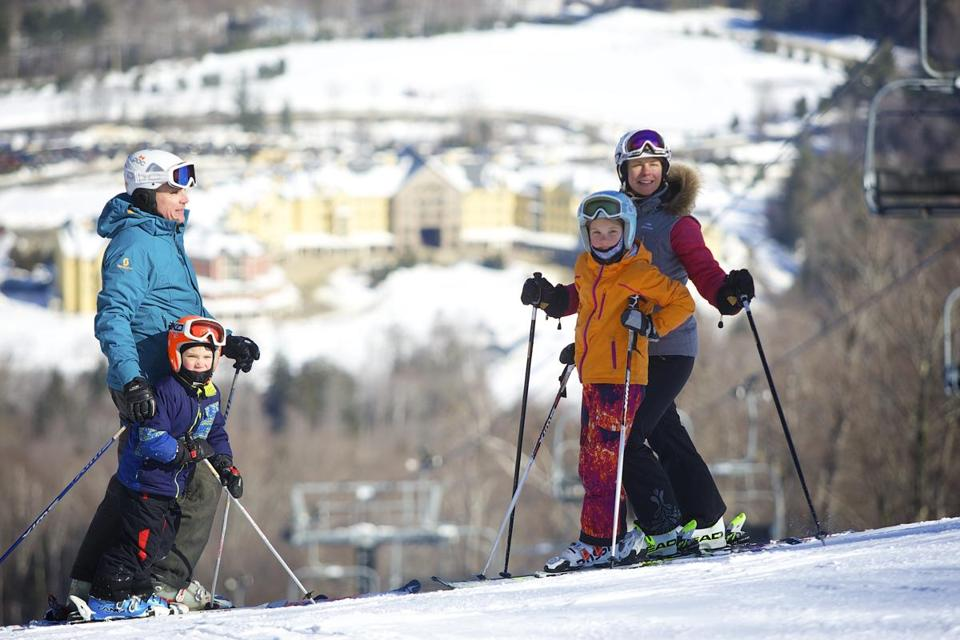 Okemo Mountain Resort in Vermont offers diverse terrain for skiers of all abilities as well as many family-friendly off-slope activities.
