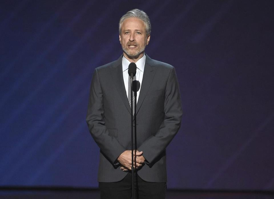 "Jon Stewart has been hosting ""Night of Too Many Stars"" since 2005."