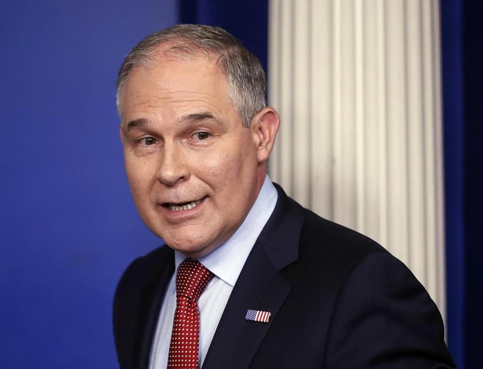 "Environmental Protection Agency Administrator Scott Pruitt made a speech last week declaring the end of the ""war against coal"" and calling for the end of federal tax credits for wind and solar power."