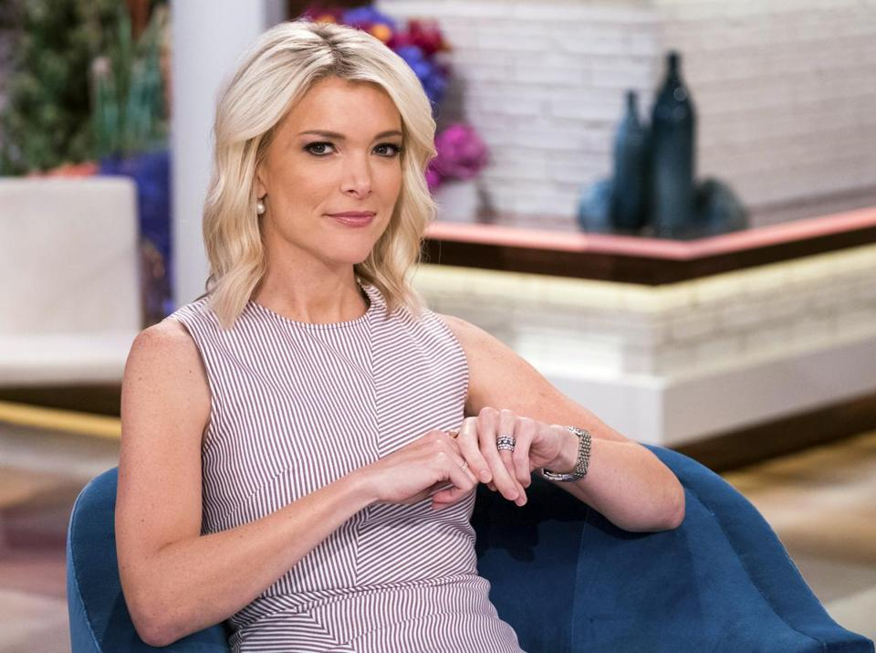 "Megyn Kelly on the set of her new show, ""Megyn Kelly Today"" at NBC Studios."