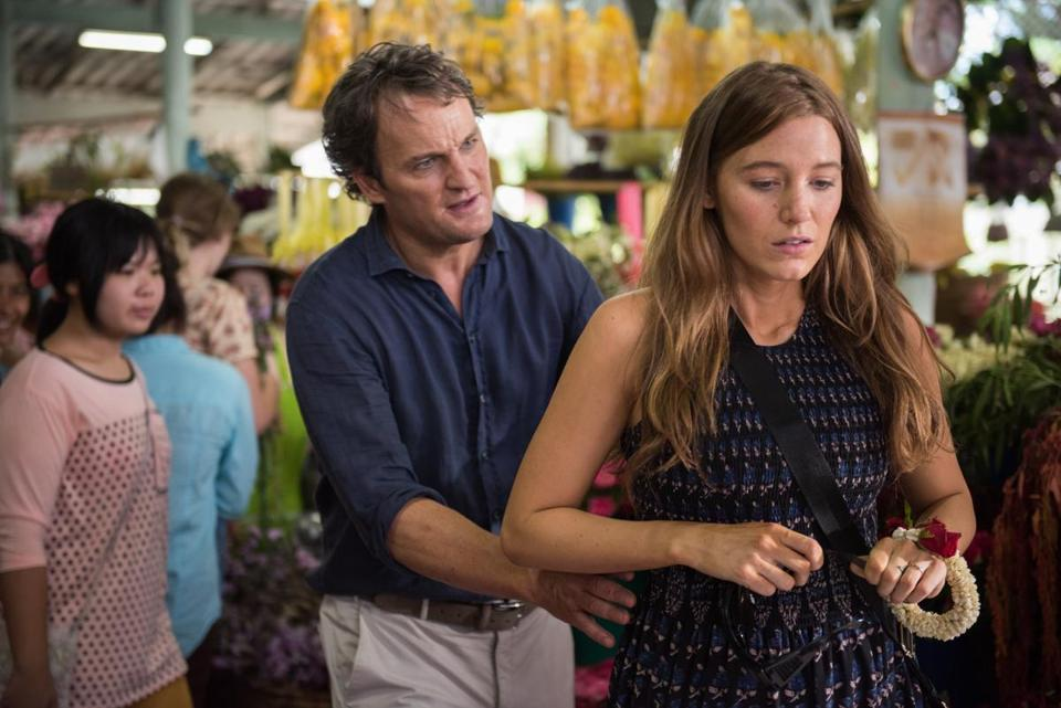 "Jason Clarke and Blake Lively in Marc Forster's ""All I See Is You."""
