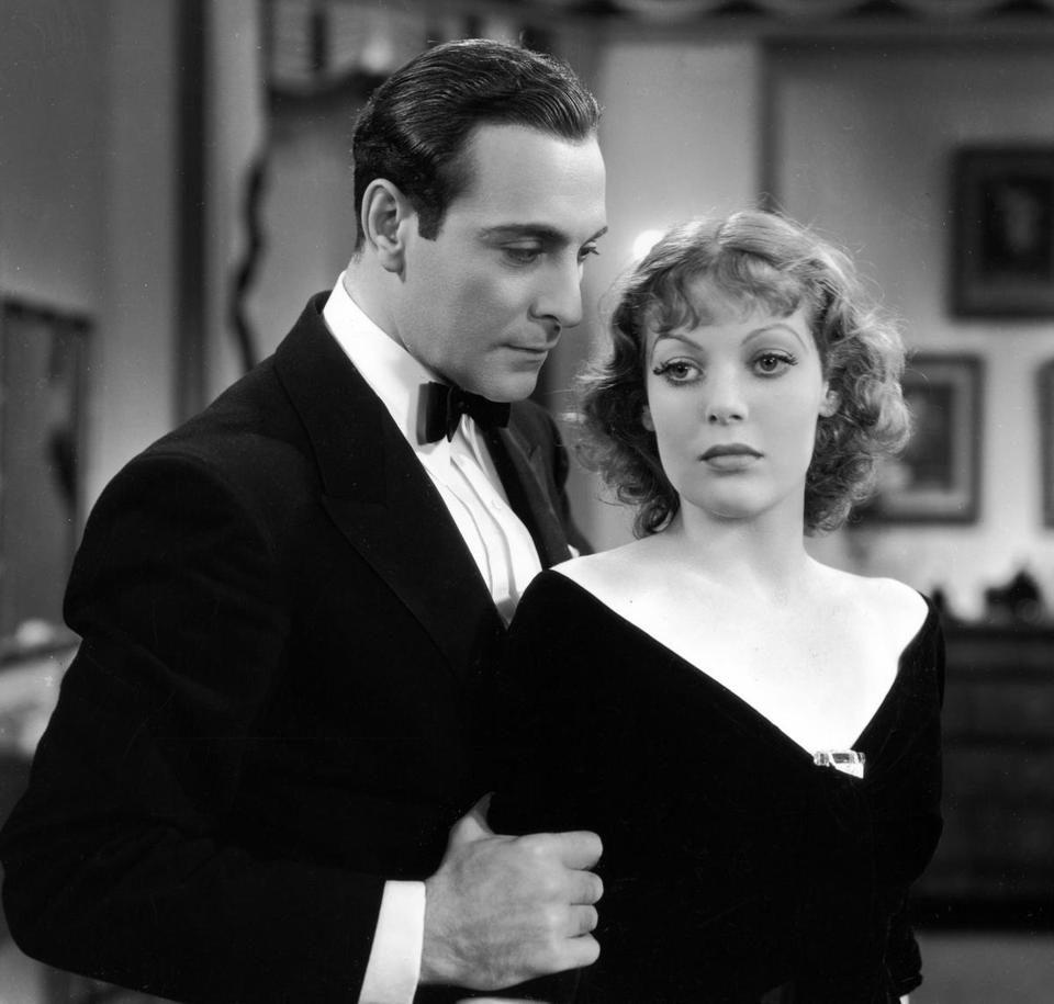 "Ricardo Cortez and Loretta Young in director William Wellman's 1933 film ""Midnight Mary."""