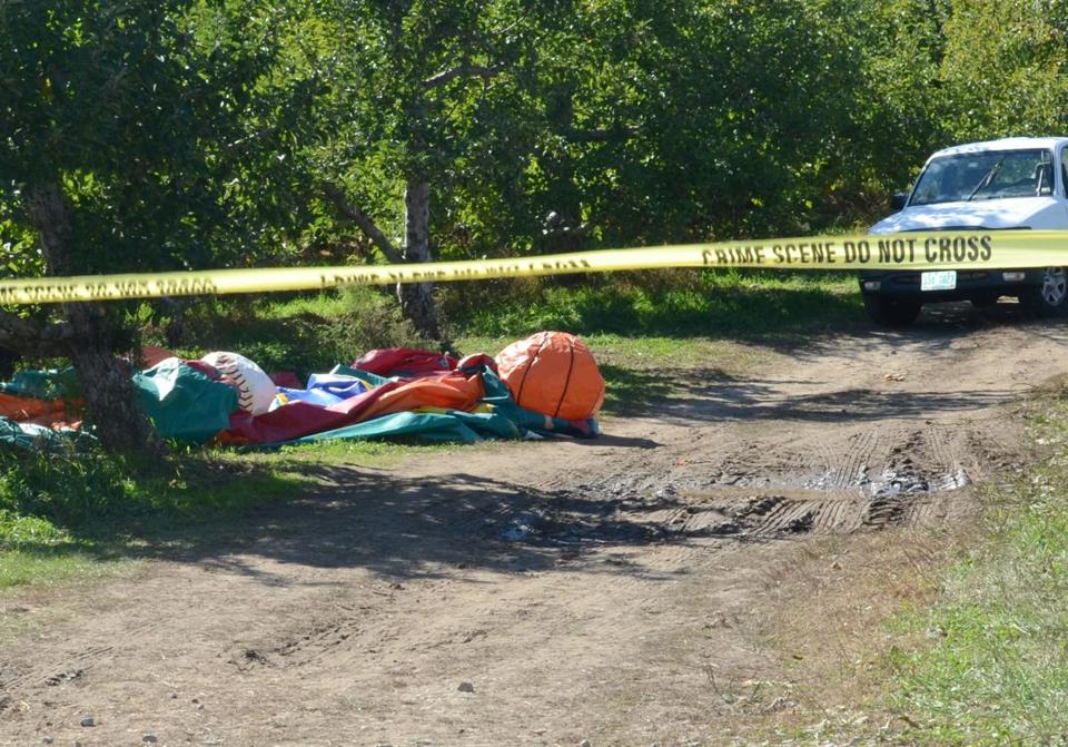 Two children were severely injured in 2014 when the wind blew the bouncy house off the ground at a New Hampshire farm.