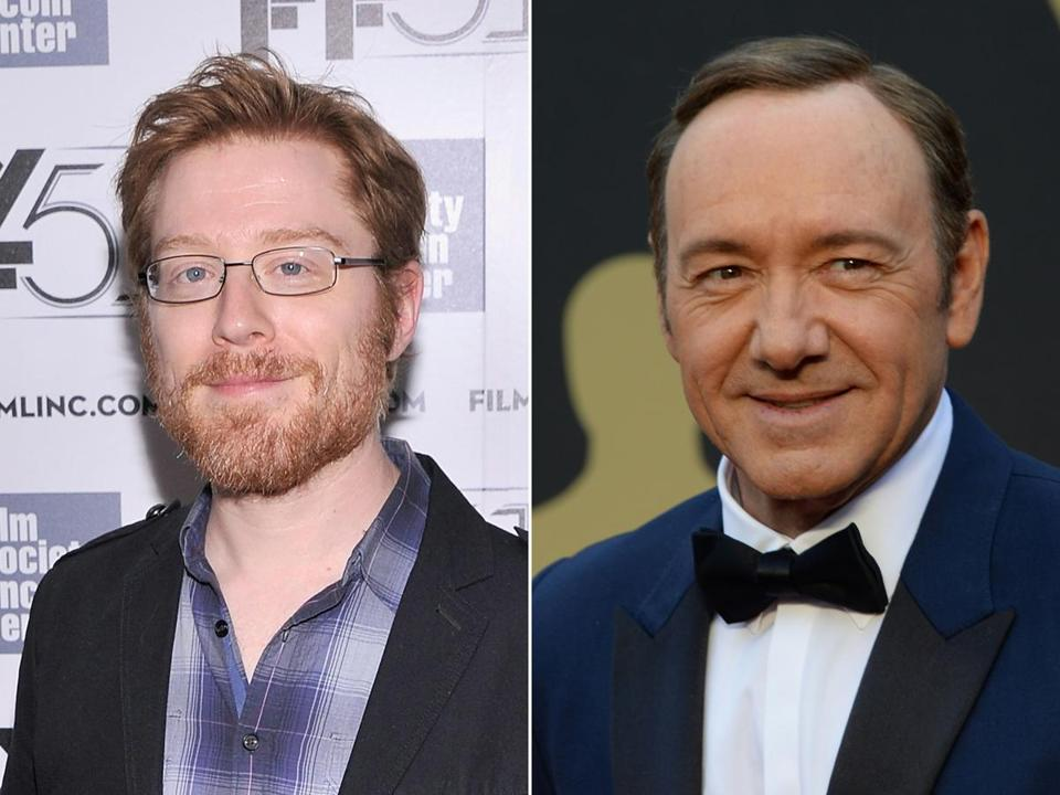 Actors Anthony Rapp (left) and Kevin Spacey. Rapp says Spacey tried to molest him when he was 14 years old.