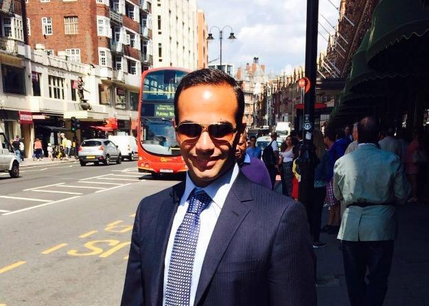 George Papadopoulos, an ex-Trump aide who admitted to lying to the FBI about pursuing Russia's help in the 2016 Presidential Election. (@GeorgePapa19/Twitter)
