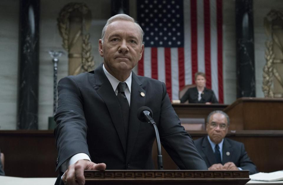 "Kevin Spacey was dropped from ""House of Cards"" following accusations of sexual misconduct."