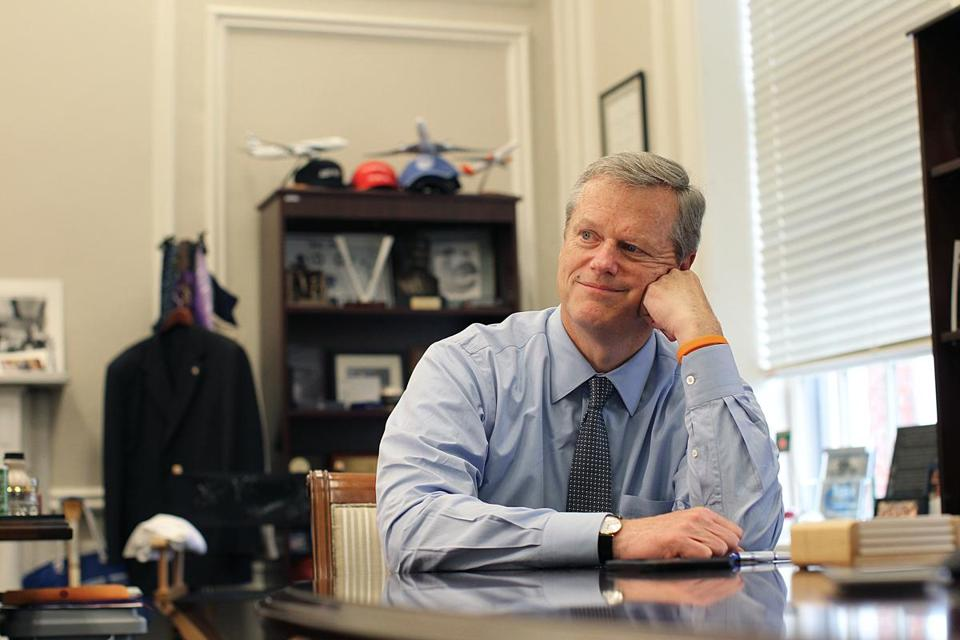 Same old story: Governor Charlie Baker remains wicked popular.