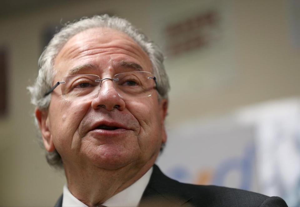 """It's not only a State House issue,"" said House Speaker Robert DeLeo (above)."