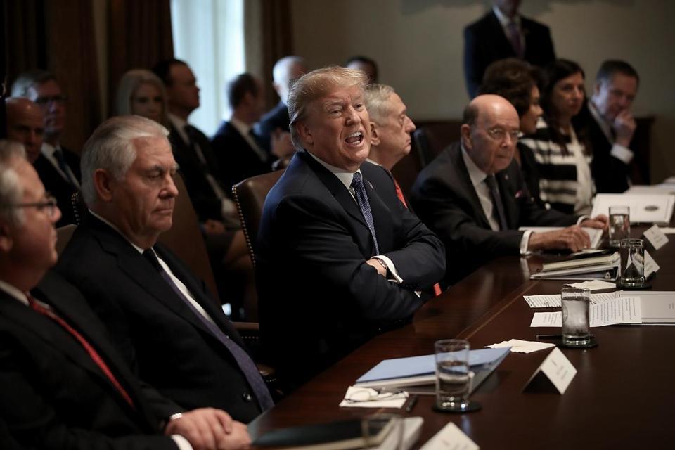 new york times trump cabinet