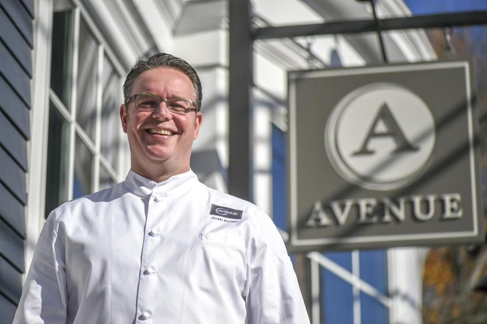 Josh Foley, chef-owner of Avenue