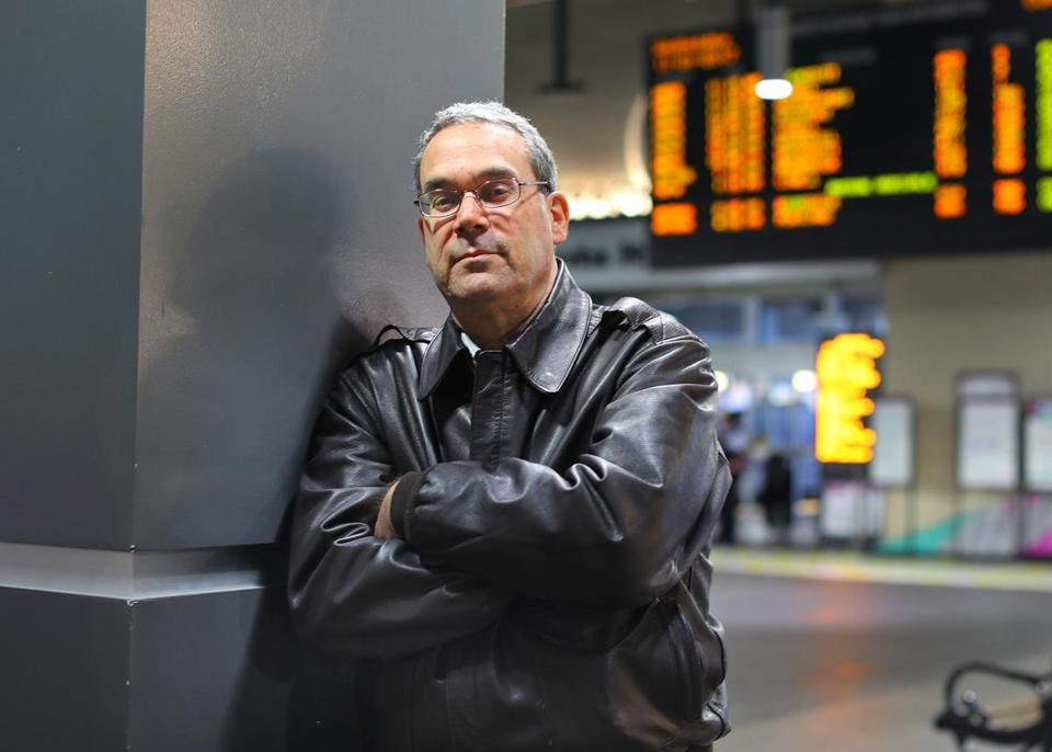 Jim Yarin was arrested at North Station last week on a commuter rail platform after presenting a faded train ticket.