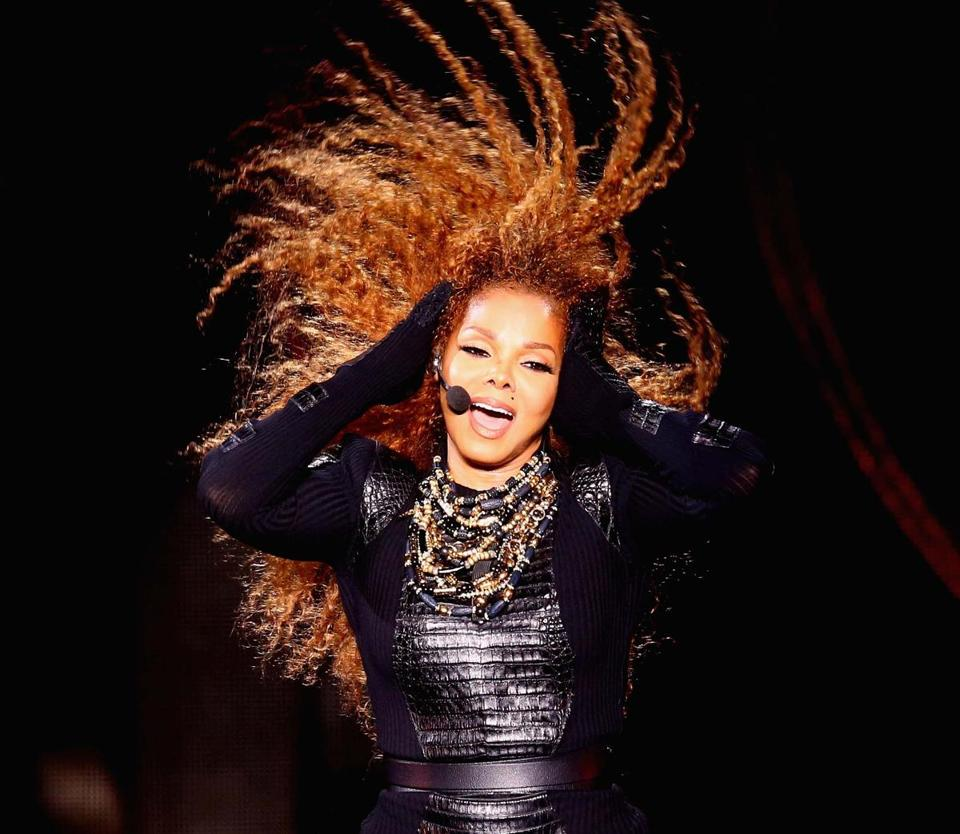 Janet Jackson plays TD Garden Sunday.