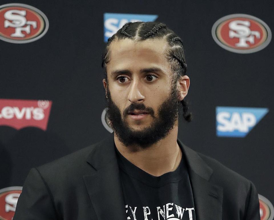 A column earlier this week suggesting the Patriots hire Colin Kaepernick to be backup quarterback drew slightly more positive responses than negative.