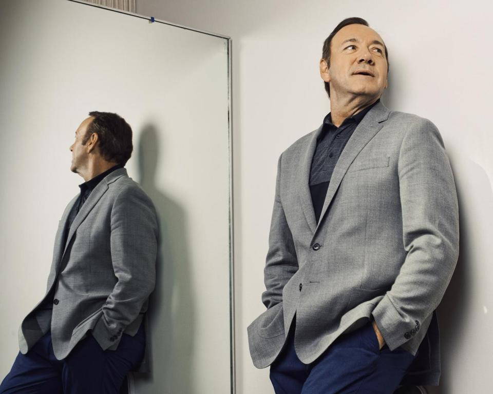 "Kevin Spacey at the Juilliard School in New York, May 29, 2017. Spacey has had a busy spring, starring in another season of ""House of Cards"" on Netflix, preparing to host the Tony Awards and showing his stage roots with a performance as Clarence Darrow — in a tennis stadium. (Ryan Pfluger/The New York Times)-- PART OF A COLLECTION OF STAND-ALONE PHOTOS FOR USE AS DESIRED IN YEAREND STORIES AND RECAPS OF 2017 --"