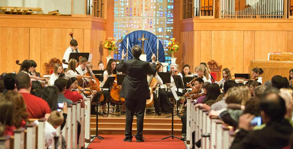 12nocalendar - Expose your children to classical music performed by children at the Northeast Massachusetts Youth Orchestra's Thanksgiving Food Basket benefit concert in Ipswich on Sunday, Nov. 19. (Aashu Virmani)