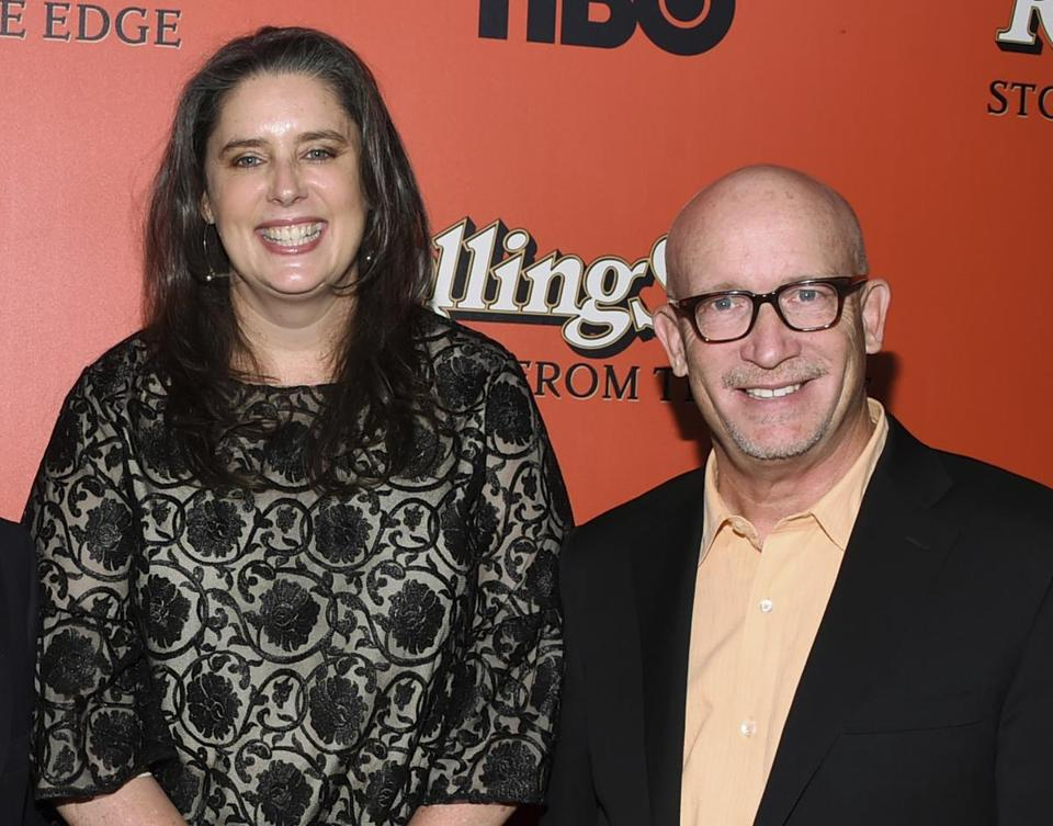 "Blair Foster and Alex Gibney, co-directors of ""Rolling Stone: Stories From the Edge."""