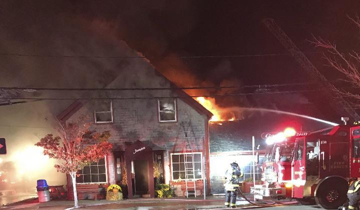 Jamie's Grille & Pub was a total loss following a fire of undertermined but not suspicious origin, according to a fire official.