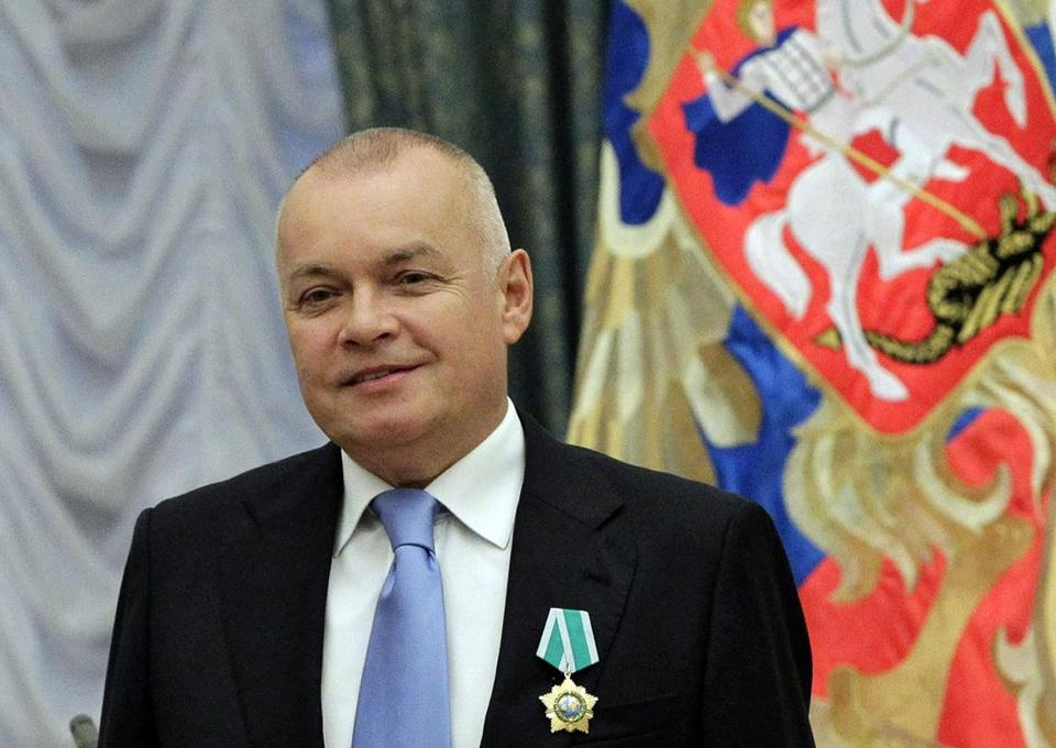 "Russian commentator Dmitry Kiselyov says Americans are now a bunch of uptight prigs. ""The sexual revolution is a thing of the past. Now everything can be seen as dirty harassment.''"