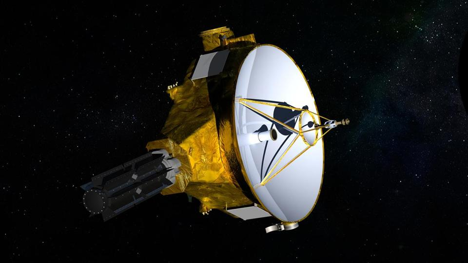 NASA illustration of the New Horizons spacecraft.