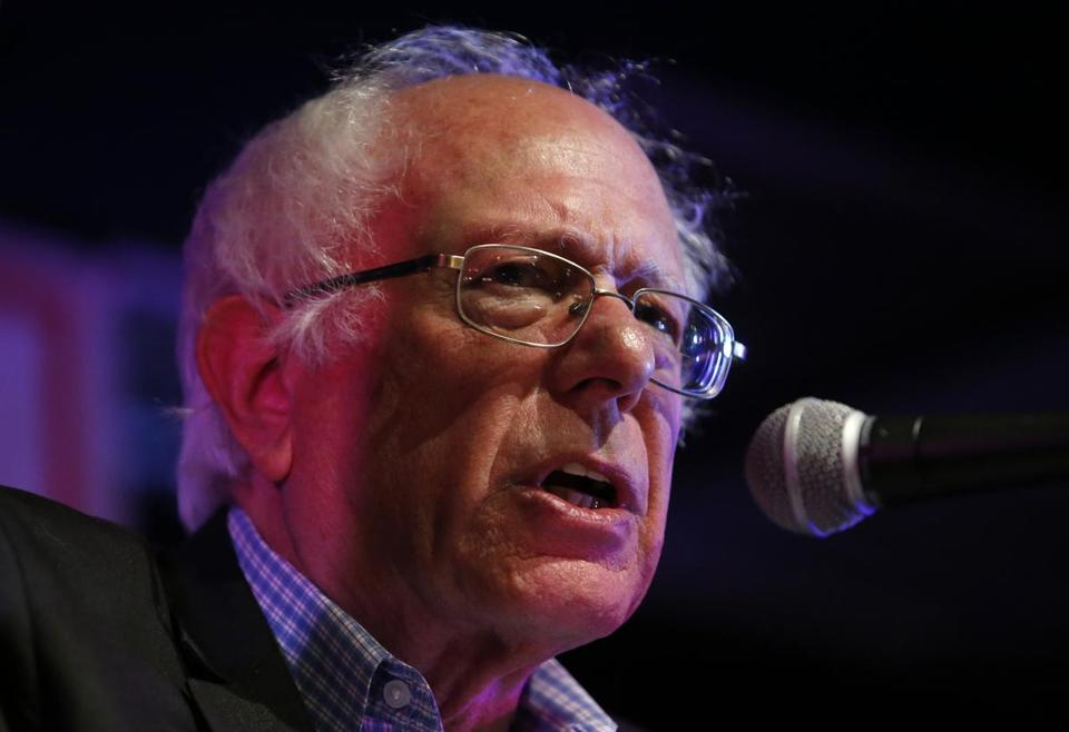 Senator Bernie Sanders, Independent of Vermont, spoke at a rally in Somerville last month to support aldermen candidates.