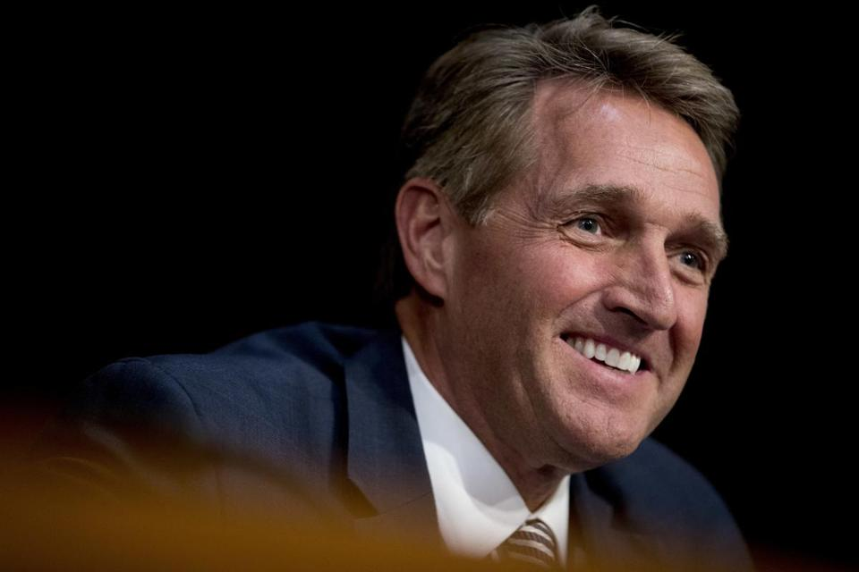 Senator Jeff Flake of Arizona, a strong critic of President Trump's, has already dropped out of his reelection battle, decrying extremism in the party.