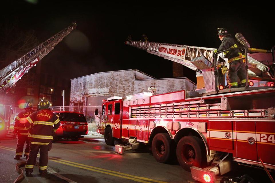 Fire Investigators Back In East Boston To Determine Cause Of 4 Alarm Blaze