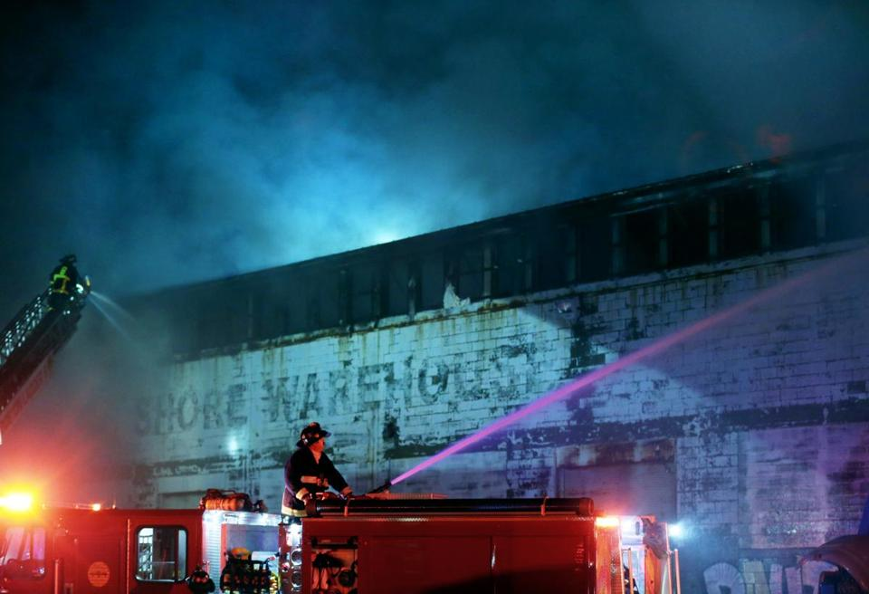 4 Alarm Fire In East Boston Closes Streets In Central Square