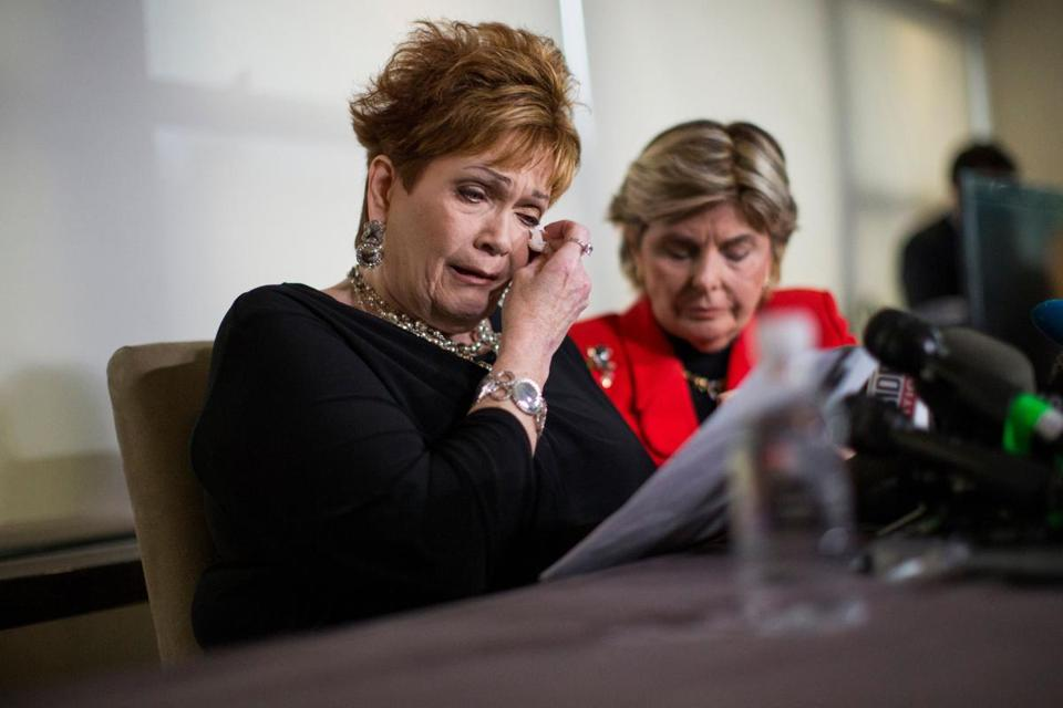 """Instead of stopping, he began squeezing my neck attempting to force my head onto his crotch,'' said Beverly Young Nelson, who said Roy Moore attacked her when she was 16."
