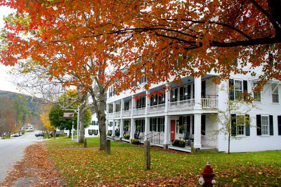The Grafton Inn in Vermont will serve a traditional dinner, as well as cajun-style turkey and vegetarian fare.
