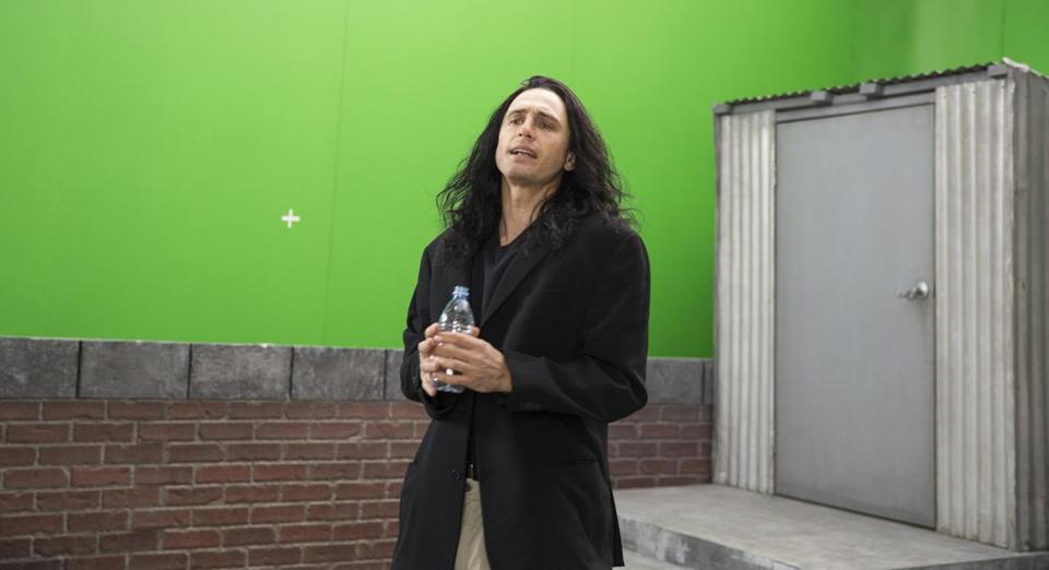 "James Franco on the set of ""The Disaster Artist."""