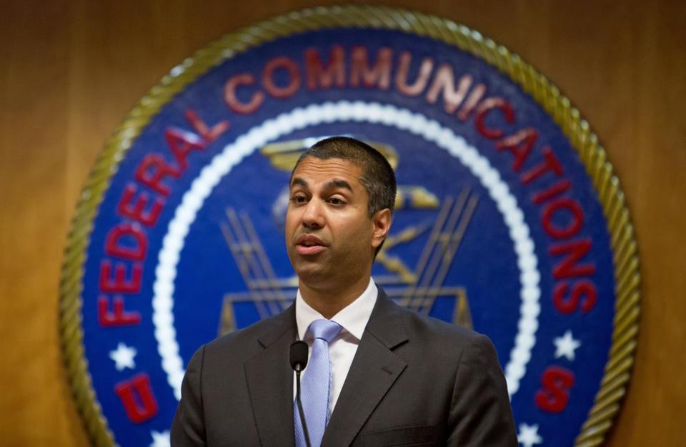 FCC chairman Ajit Pai said most Americans get their news from a variety of sources and online platforms like Facebook and Google.