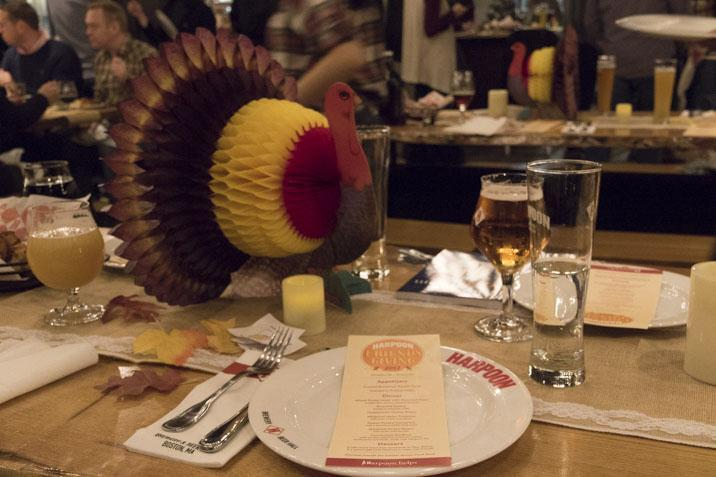 Harpoon Brewery is one of many businesses to host festivities with the Friendsgiving theme as the holiday continues to gain in popularity.