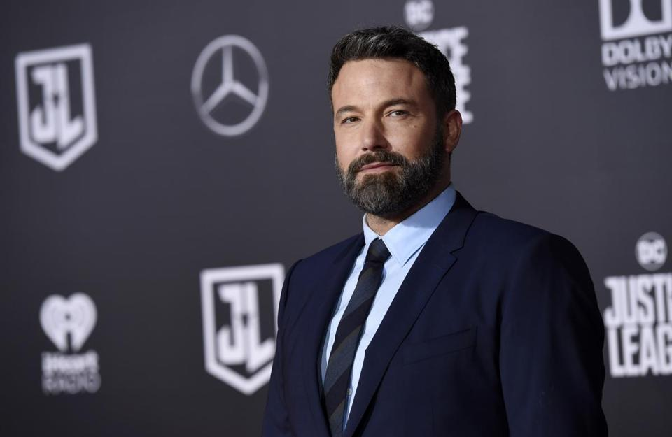"Ben Affleck, a cast member in ""Justice League,"" poses at the premiere of the film at the Dolby Theatre on Monday, Nov. 13, 2017, in Los Angeles. (Photo by Chris Pizzello/Invision/AP)"