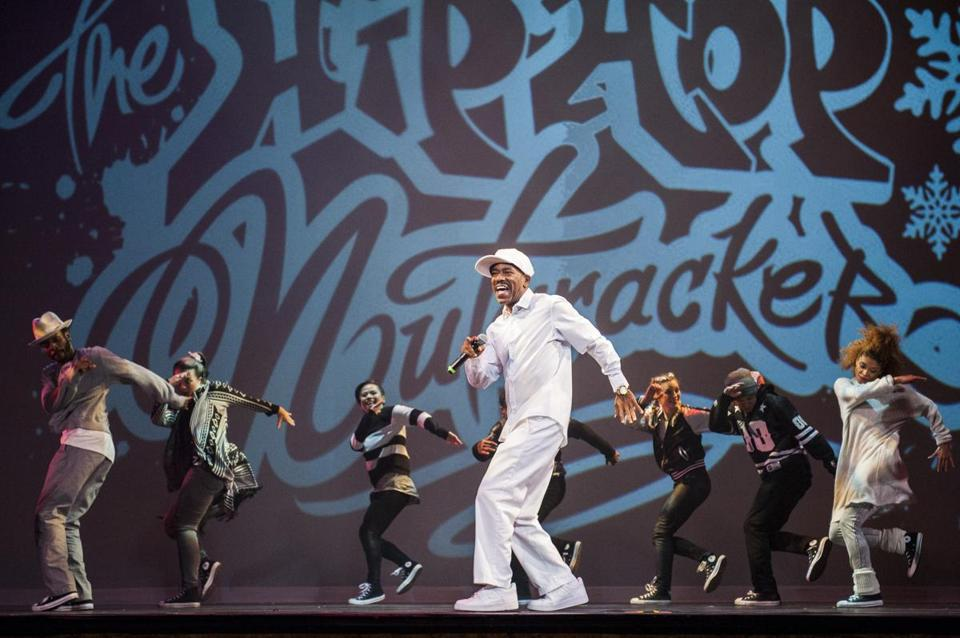 """The Hip Hop Nutcracker"" is at the Shubert Theatre."