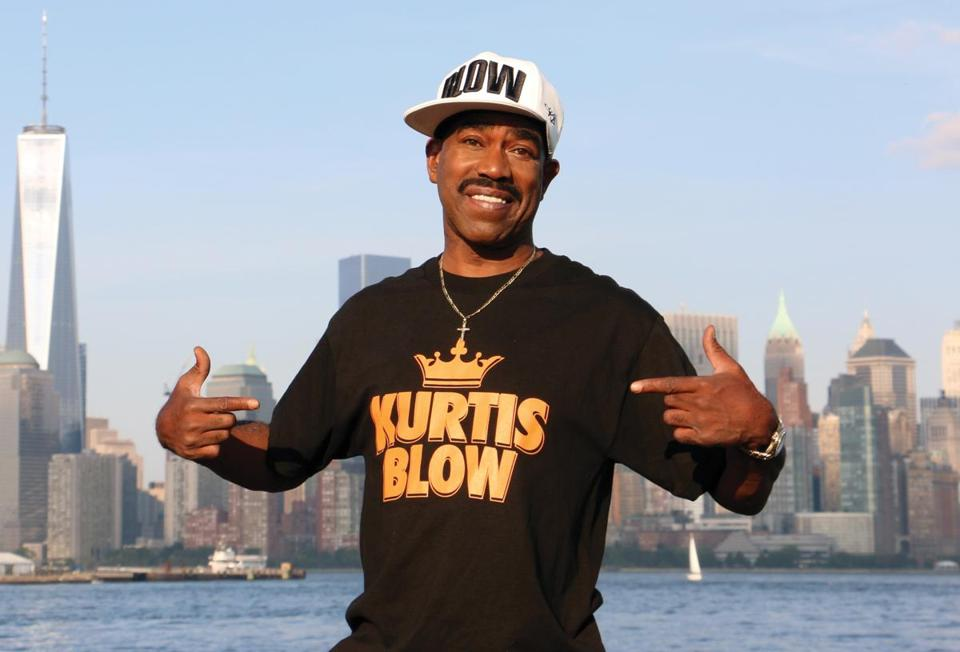 "Kurtis Blow is MC for ""The Hip-Hop Nutcracker,"" at the Shubert Theatre Thursday through Saturday."