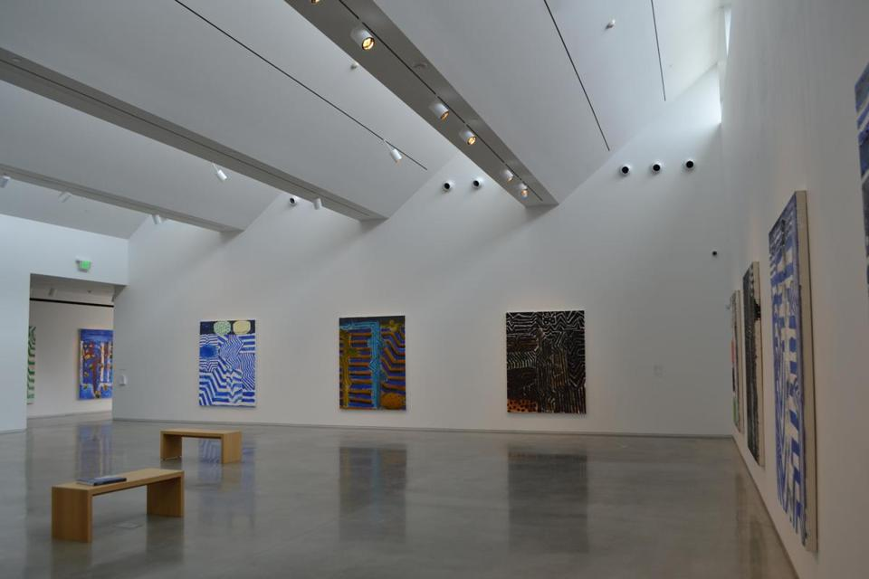 The Center for Maine Contemporary Art boasts large exhibit spaces and showcases the work of a variety of local artists.