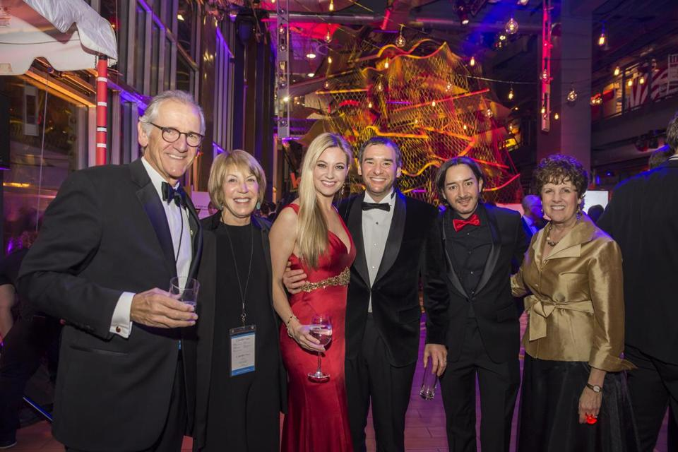 From left: Robert and Susan Schechter, Ashley Karger, Wesley Karger, Paul Karger, and Carole Charnow at the Wonder Ball.