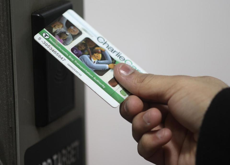 Under the MBTA plan, CharlieCards would become extinct.