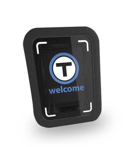 A rendering of the card taps planned for use on the MBTA's buses.