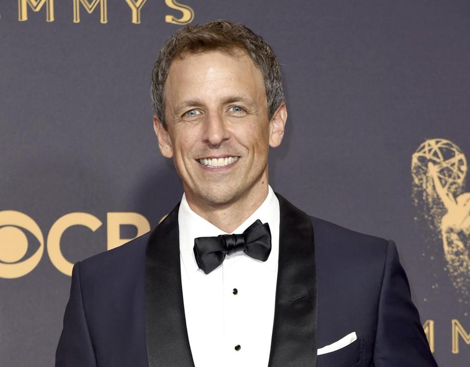 Seth Meyers will host the Golden Globe Awards Jan. 7.