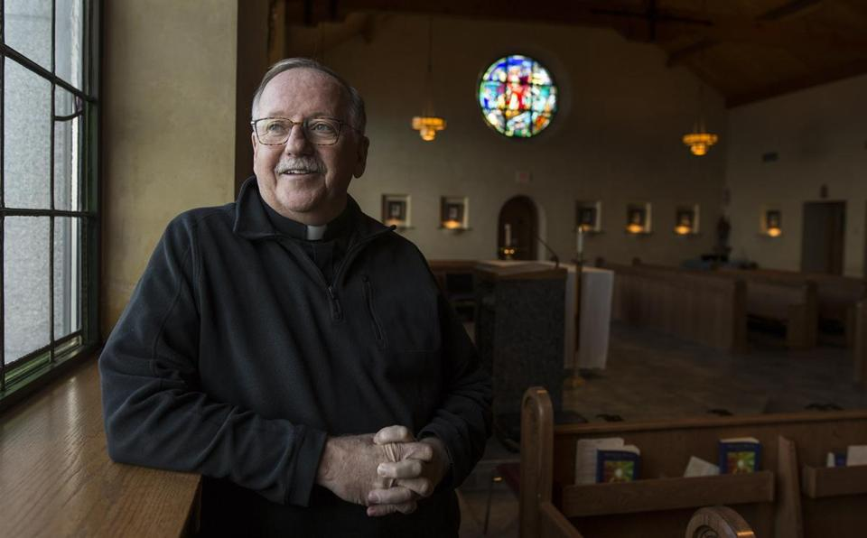 "The Rev. Tom Hoar's first query to new residents of St. Edmund's Retreat: ""Have you had enough?''"
