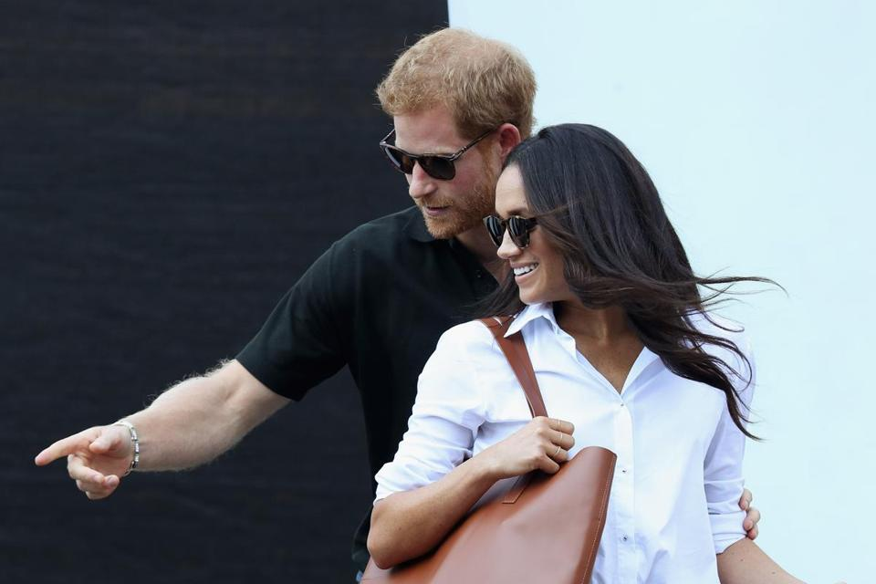 Prince Harry and Meghan Markle announced their engagement Monday.