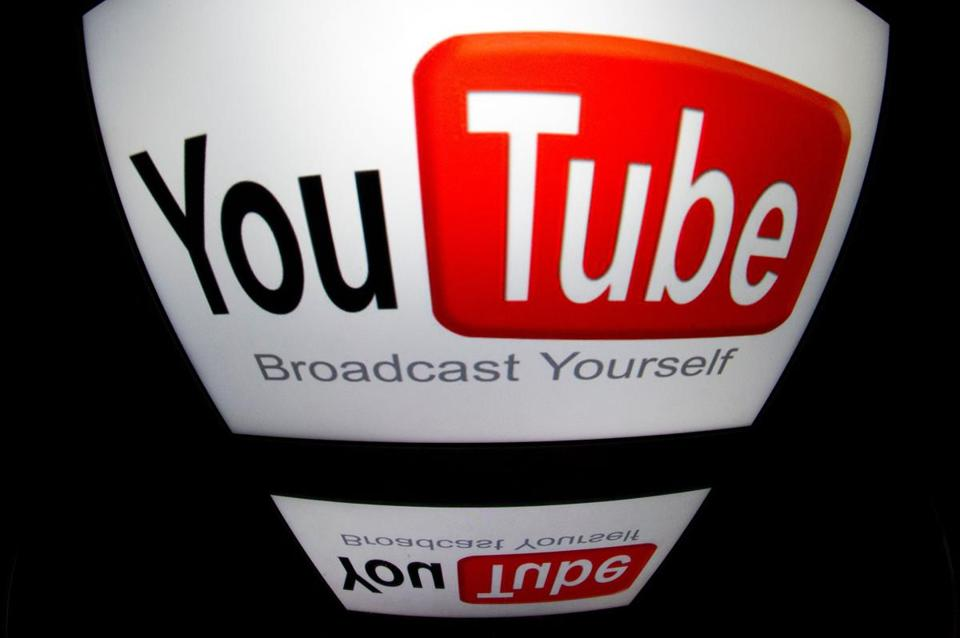 "(FILES) This file photograph taken on December 4, 2012, shows the ""YouTube"" logo displayed on a tablet screen in Paris. Internet giants were expected to tell Congress this week that Russian-backed content aimed at manipulating US politics during last year's election was more extensive than first thought. Facebook, Google and Twitter were slated to share what they have learned so far from digging into possible connections between Russian entities and posts, ads, and even videos shared on YouTube. / AFP PHOTO / LIONEL BONAVENTURELIONEL BONAVENTURE/AFP/Getty Images"