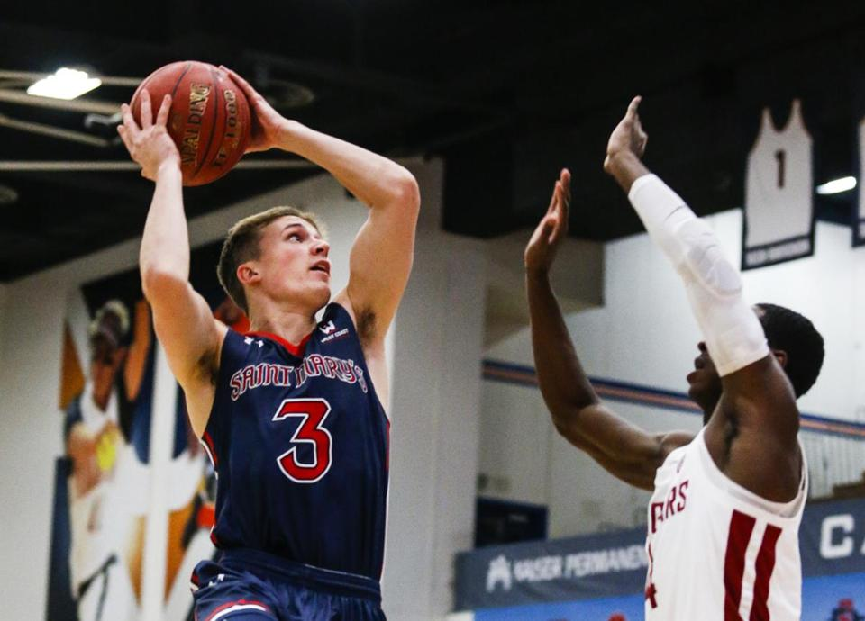 Back-to-back losses for Emmett Naar and his Saint Mary's squad came as a surprise.