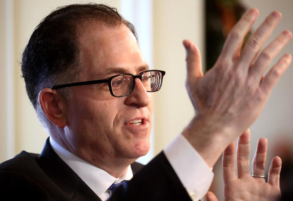 "Michael Dell said the corporate cultures of EMC and Dell have turned out to be ""quite compatible."""