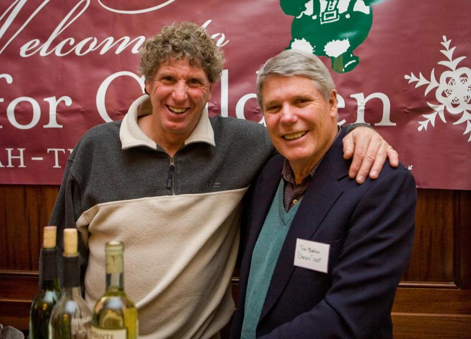 Mark Fidrych (left) was killed in a 2009 mishap on his Northborough farm.